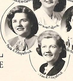 Bentley Class of 1948 Paula Jean
