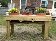 pot bench