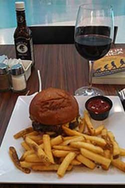 burger dinner